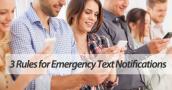 Mass texting service