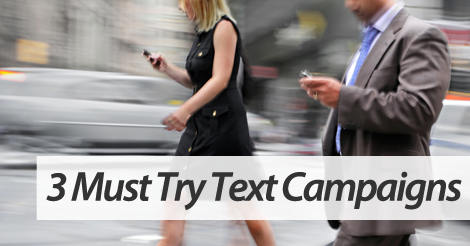Text message marketing service