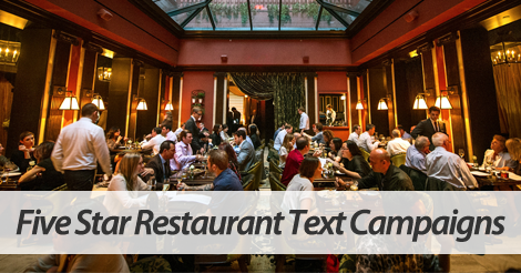 restaurant text marketing