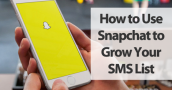 text message marketing and snapchat