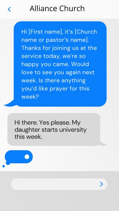 prayer request text template